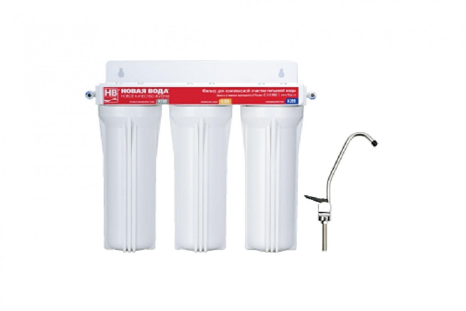 Фильтр Новая вода  EU300 трехступенчатый